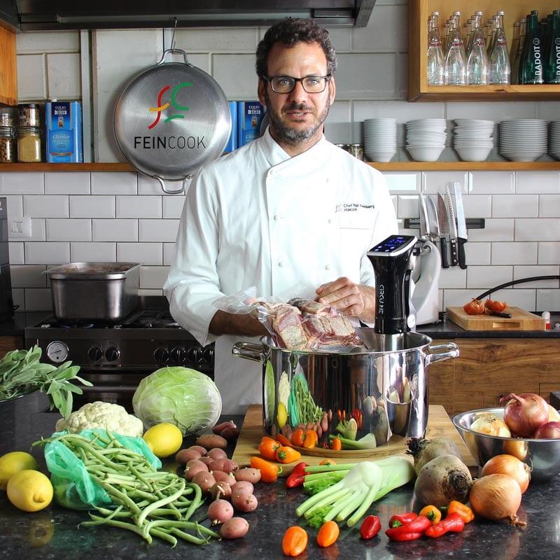 יסודות שיטת הבישול בוואקום