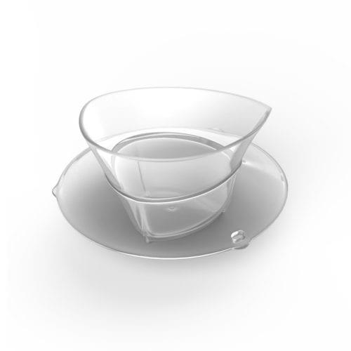מכסה שקוף כוס מדידה TM5