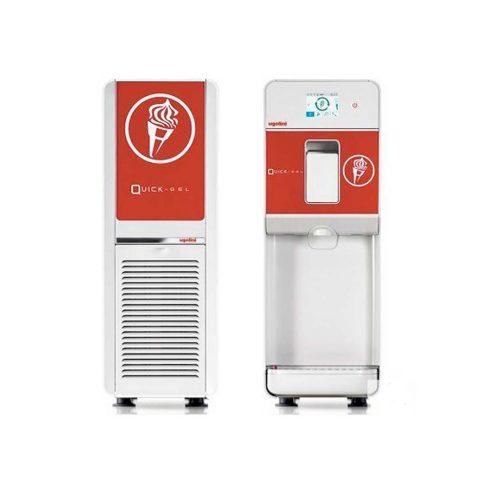Quick-GEL מכונת גלידה אמריקאית